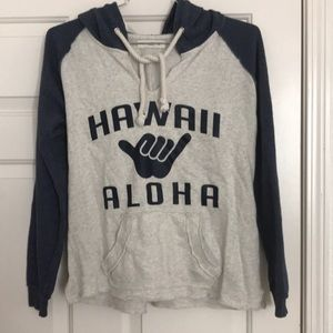 Hawaii Aloha sweatshirt hoodie size medium